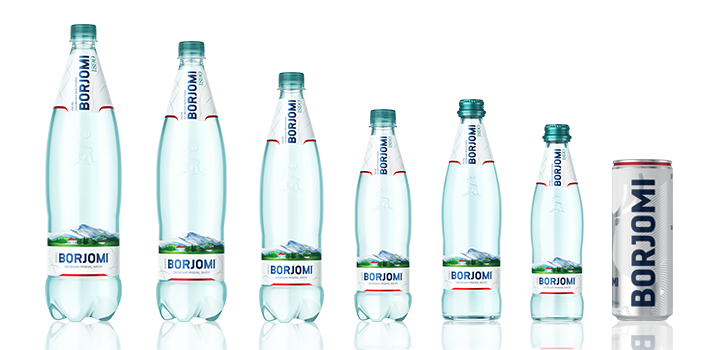 Borjomi: turning to a new style | Borjomi
