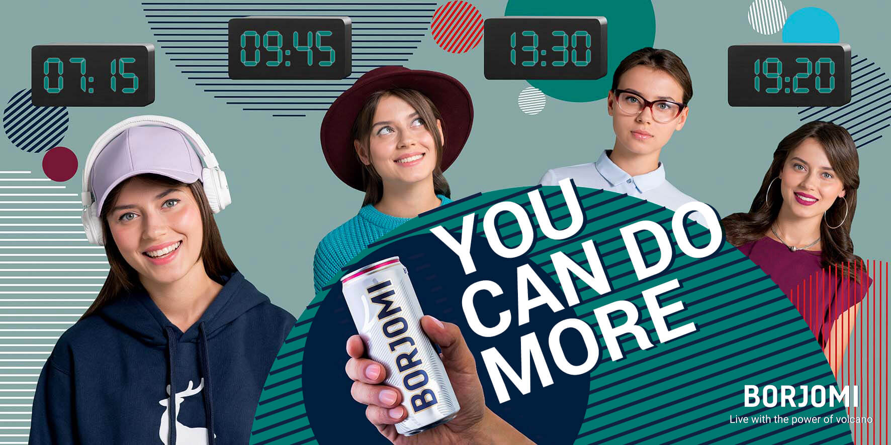 You Can Do More with the Power of the Volcano: BORJOMI Unveils New Ad Campaign | BORJOMI