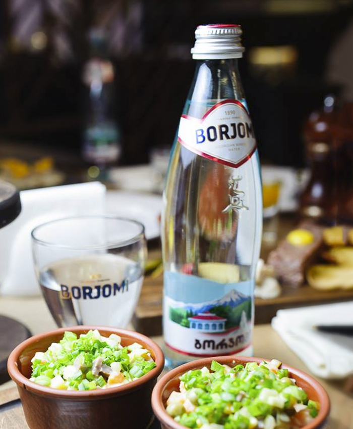 Be Healthy with BORJOMI